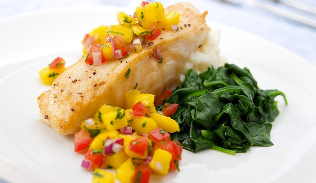 Grilled Grouper with Mango Salsa Recipe