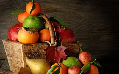 Pears, Pomegranates & Persimmons