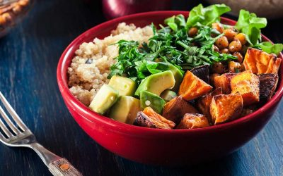 Curry Roasted Vegetable Quinoa Bowl Recipe