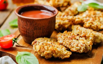Nut-Crusted Chicken Cutlets Recipe