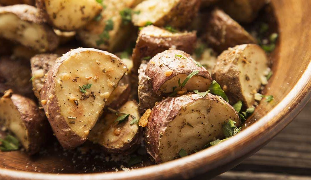 Mustard Roasted Potatoes Recipe
