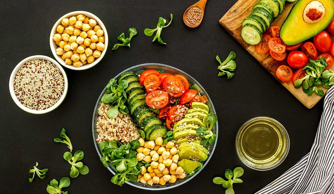 Chickpea and Quinoa Bowl
