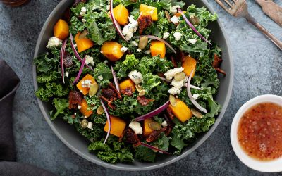 Roasted Butternut Squash and Kale Salad Recipe