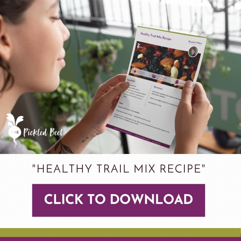 Download our Healthy Trail Mix Recipe