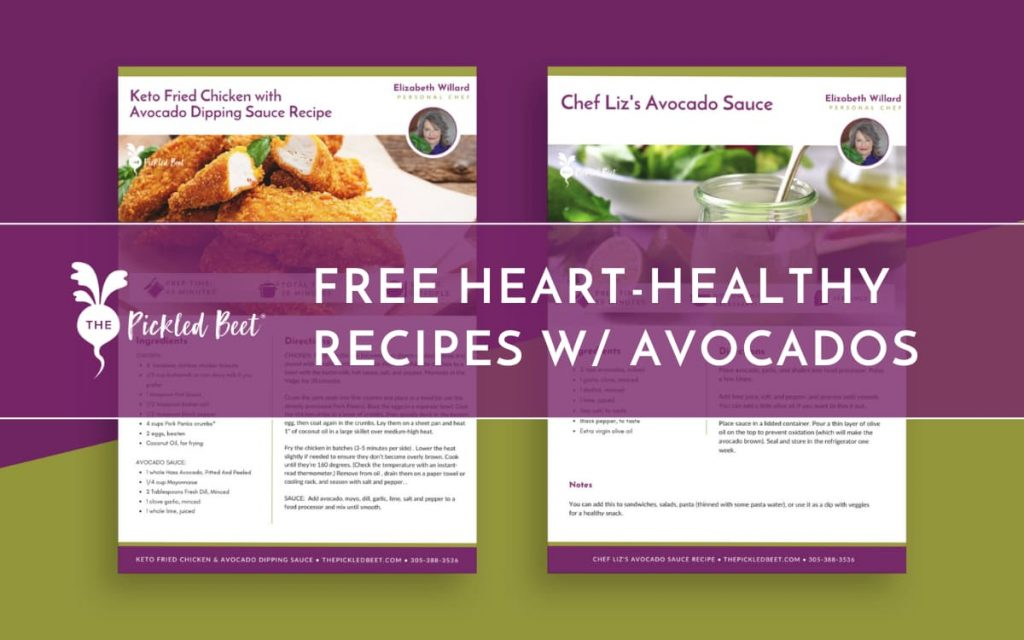 free heart-healthy recipes with avocados